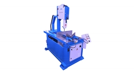 Vertical bandsawing machines, straight cut
